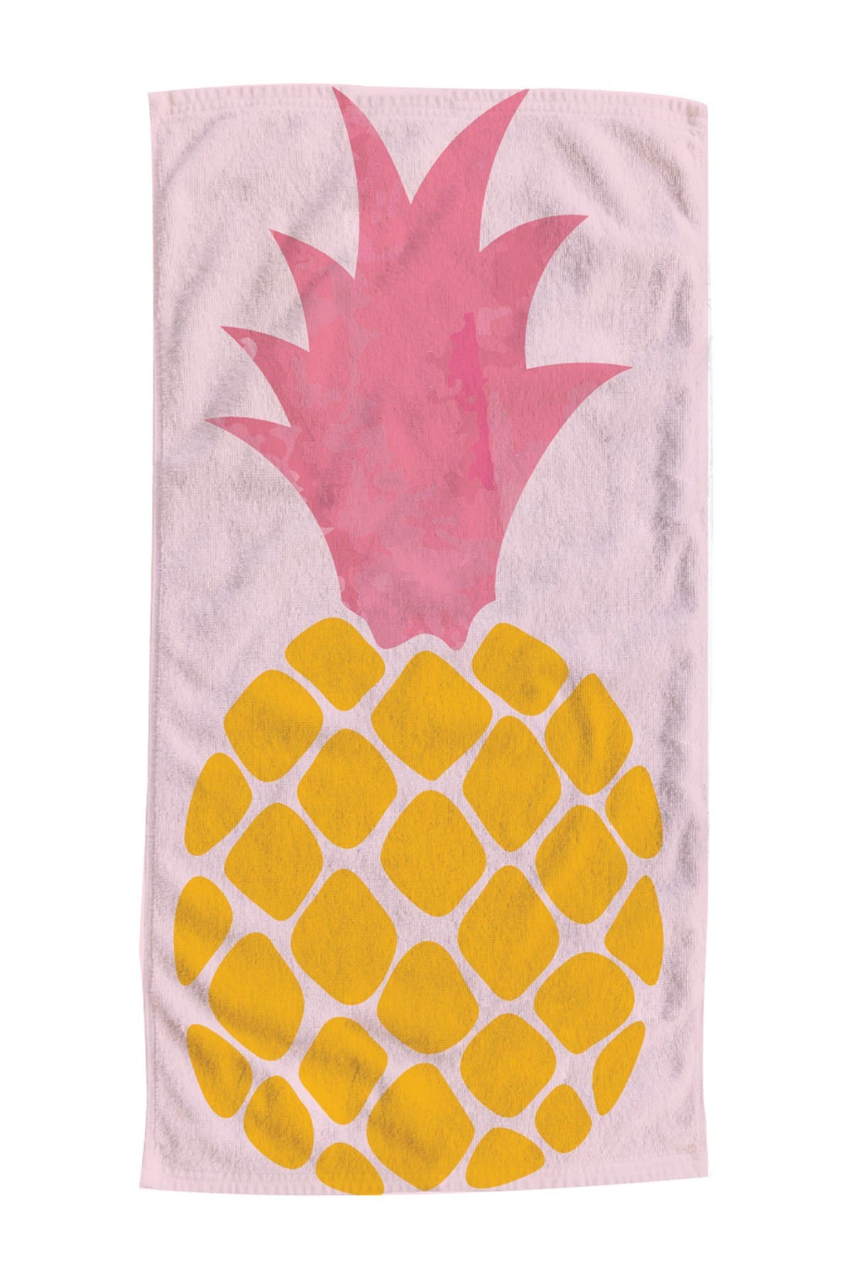 Image of Moda At Home Tropical Pineapple Beach Towel