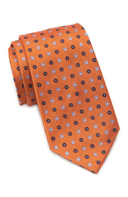 Image of Nordstrom Belle Printed Silk Blend Tie