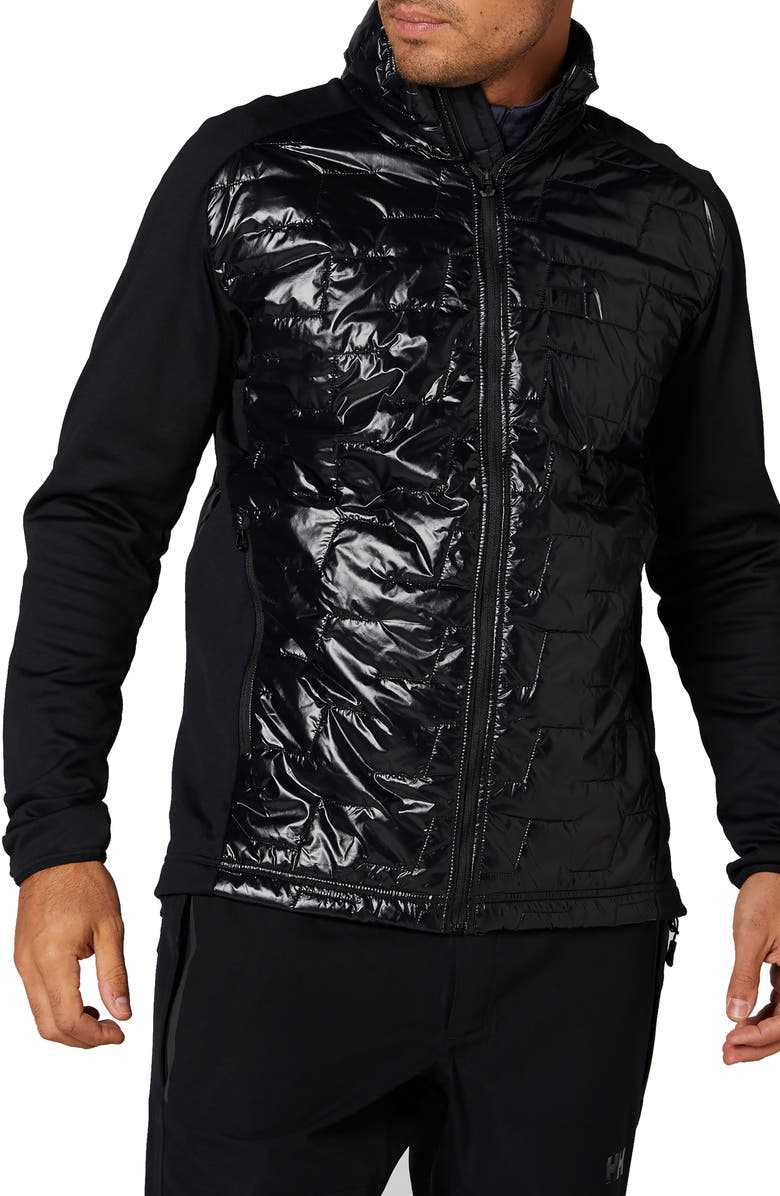 HELLY HANSEN Liftaloft<sup>™</sup> Hybrid Water- & Wind-Resistant Insulator Jacket, Main, color, 001