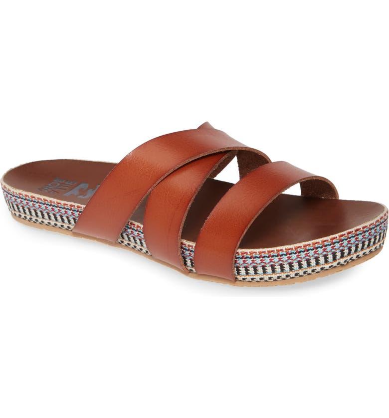 BILLABONG Wrap Me Up Sandal, Main, color, DESERT BROWN