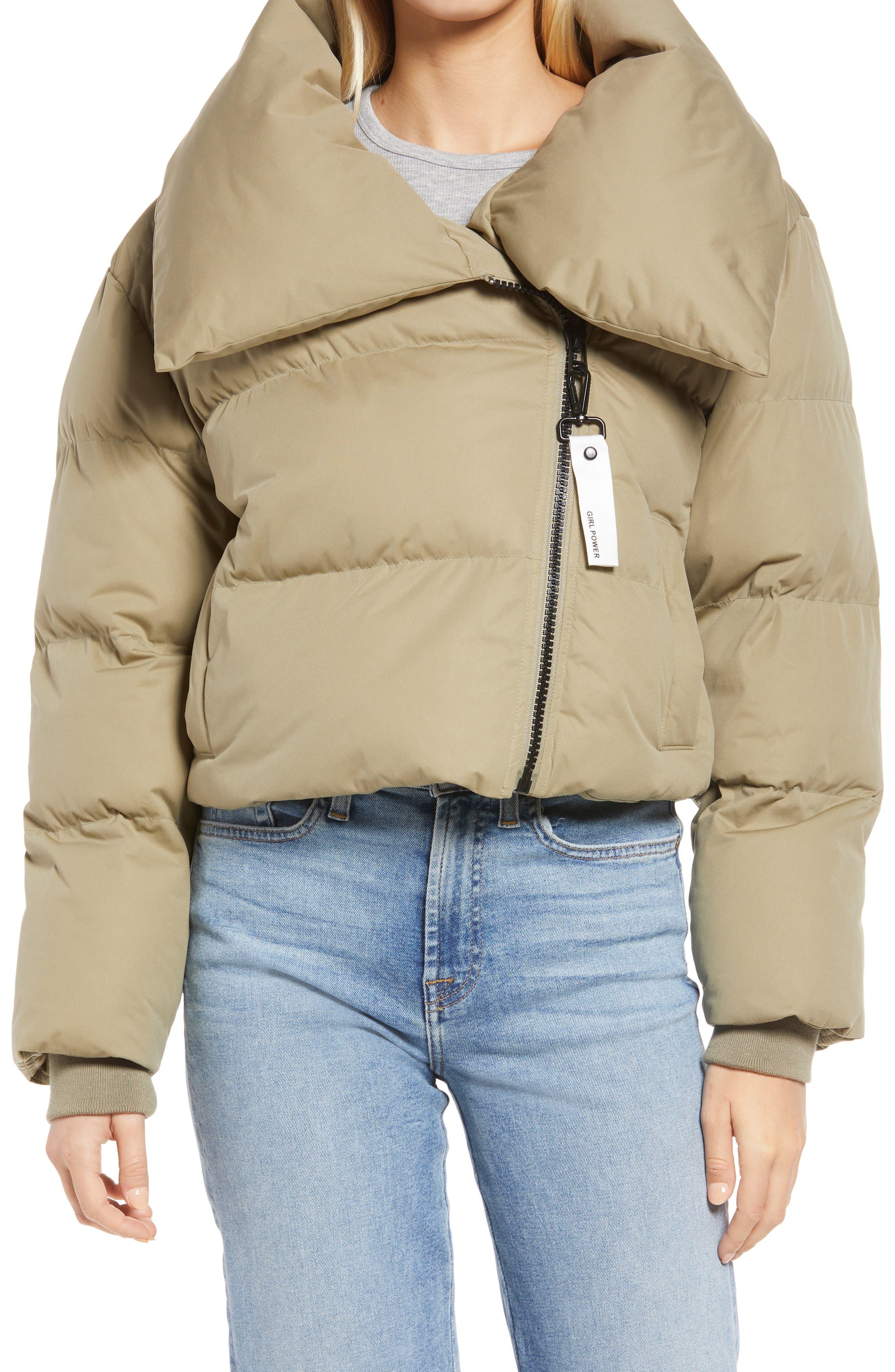 Crop Puffer Coat