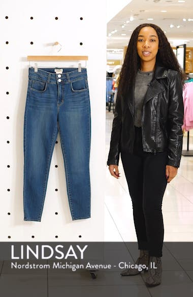 Peyton High Waist Crop Skinny Jeans, sales video thumbnail