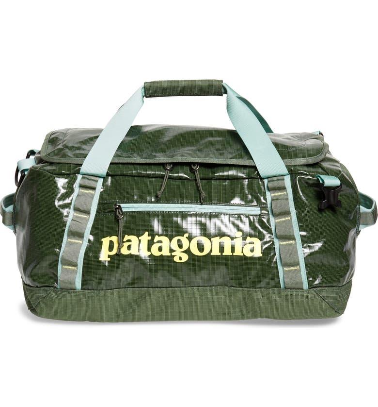 PATAGONIA Black Hole Water Repellent 40-Liter Duffle Bag, Main, color, CAMP GREEN