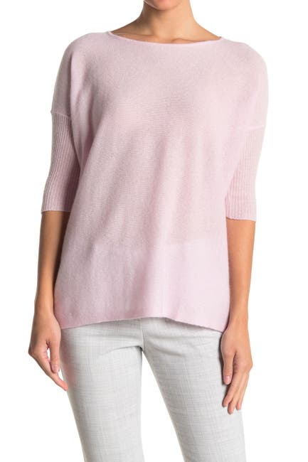 Image of GRIFFEN CASHMERE Boxy Boatneck Cashmere Sweater