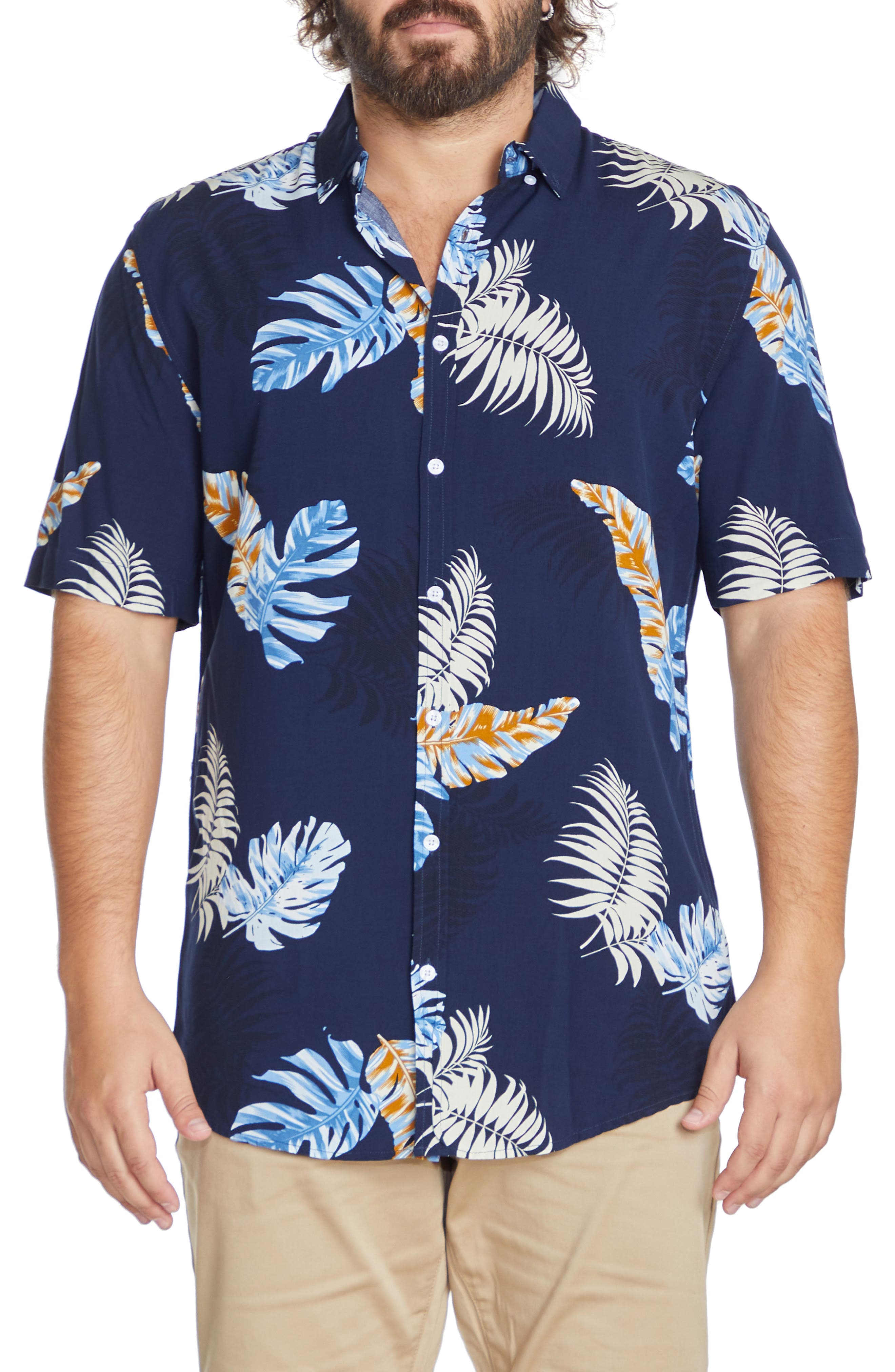 Kauai Tropical Short Sleeve Button-Up Shirt