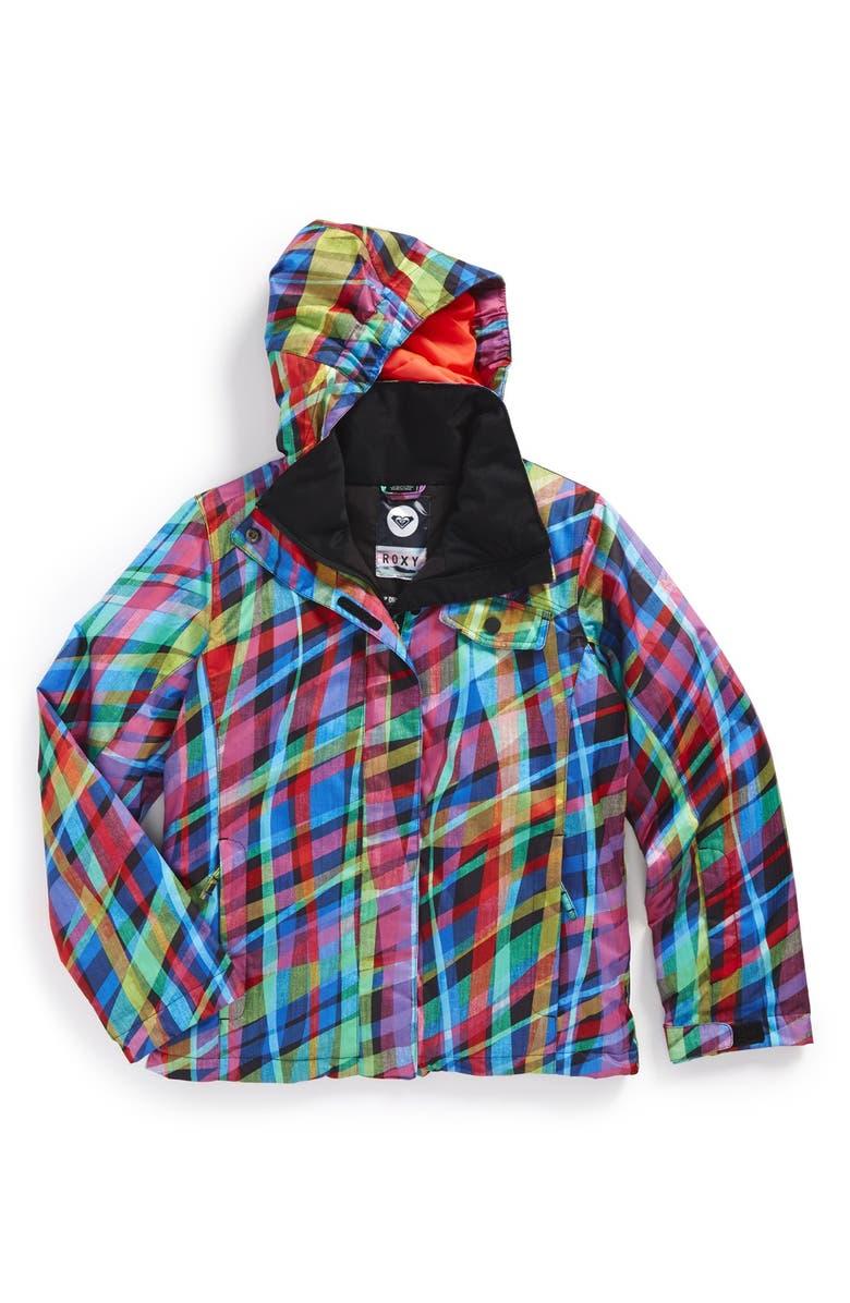 66912df57 'Jetty Girl' Print Waterproof DRY-FLIGHT Snowboard Jacket, Main, color,