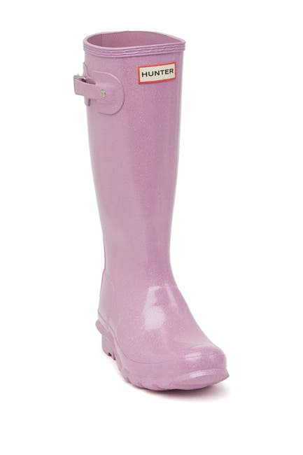 Image of Hunter Starcloud Glitter Waterproof Rain Boot
