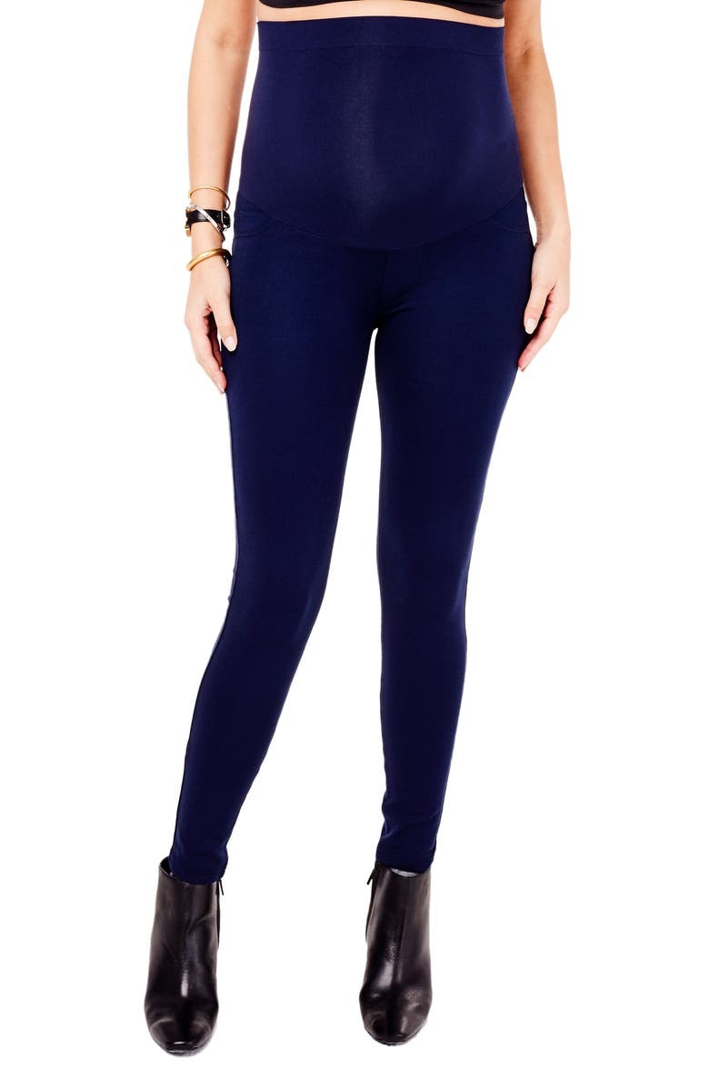 2ff10a94aea8a Ingrid & Isabel® Ponte Knit Skinny Maternity Pants | Nordstrom