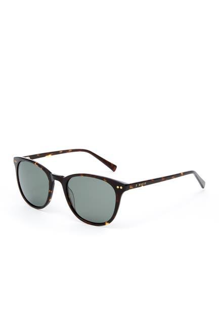 Image of Ted Baker London Polarized Full Rim Plastic Square Sunglasses