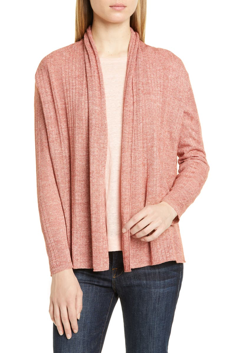 NORDSTROM SIGNATURE Open Shawl Cardigan, Main, color, 221