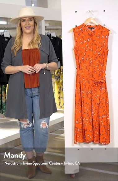 Salerno Floral Midi Dress, sales video thumbnail