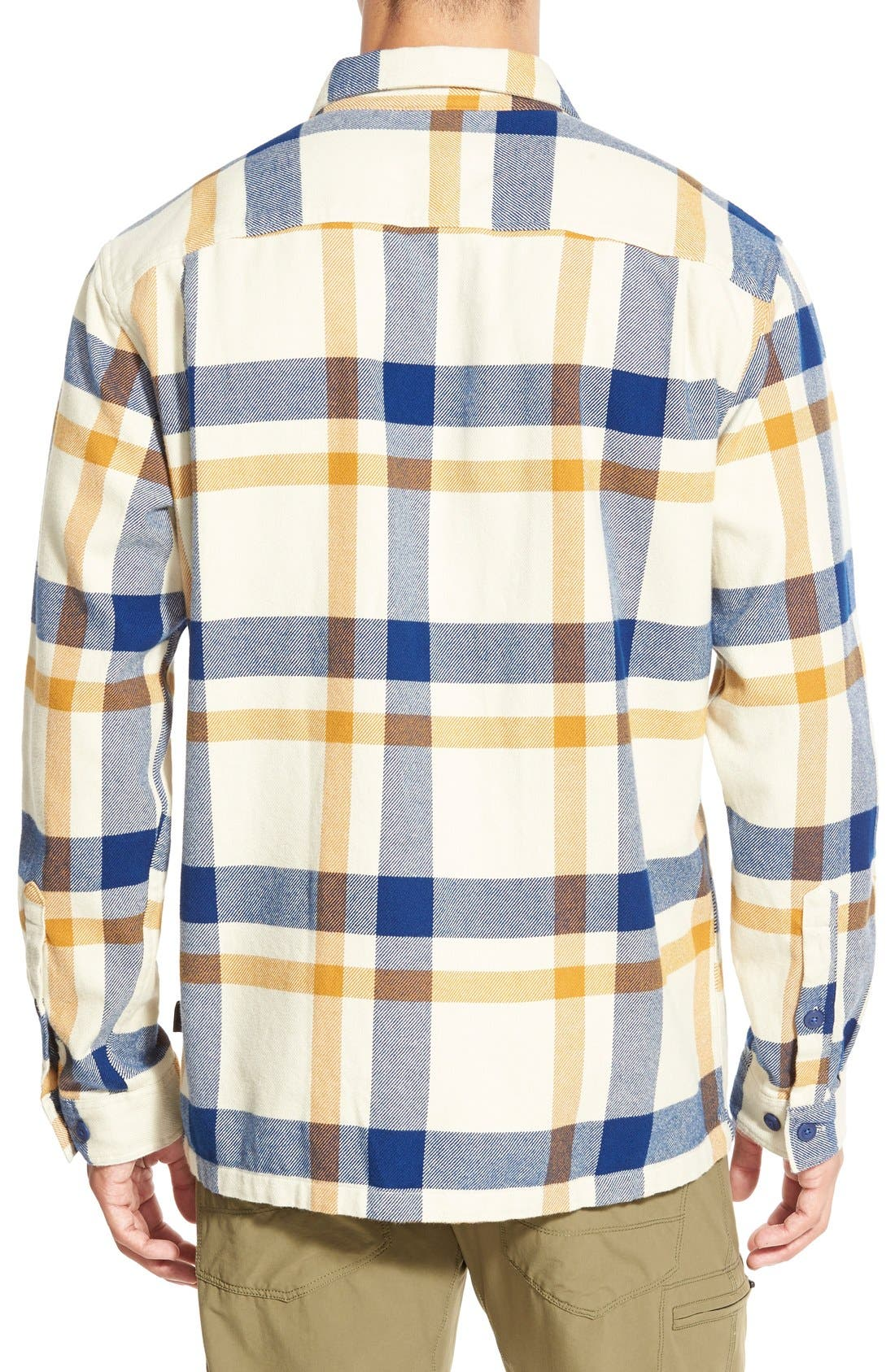 ,                             'Fjord' Regular Fit Organic Cotton Flannel Shirt,                             Alternate thumbnail 108, color,                             400