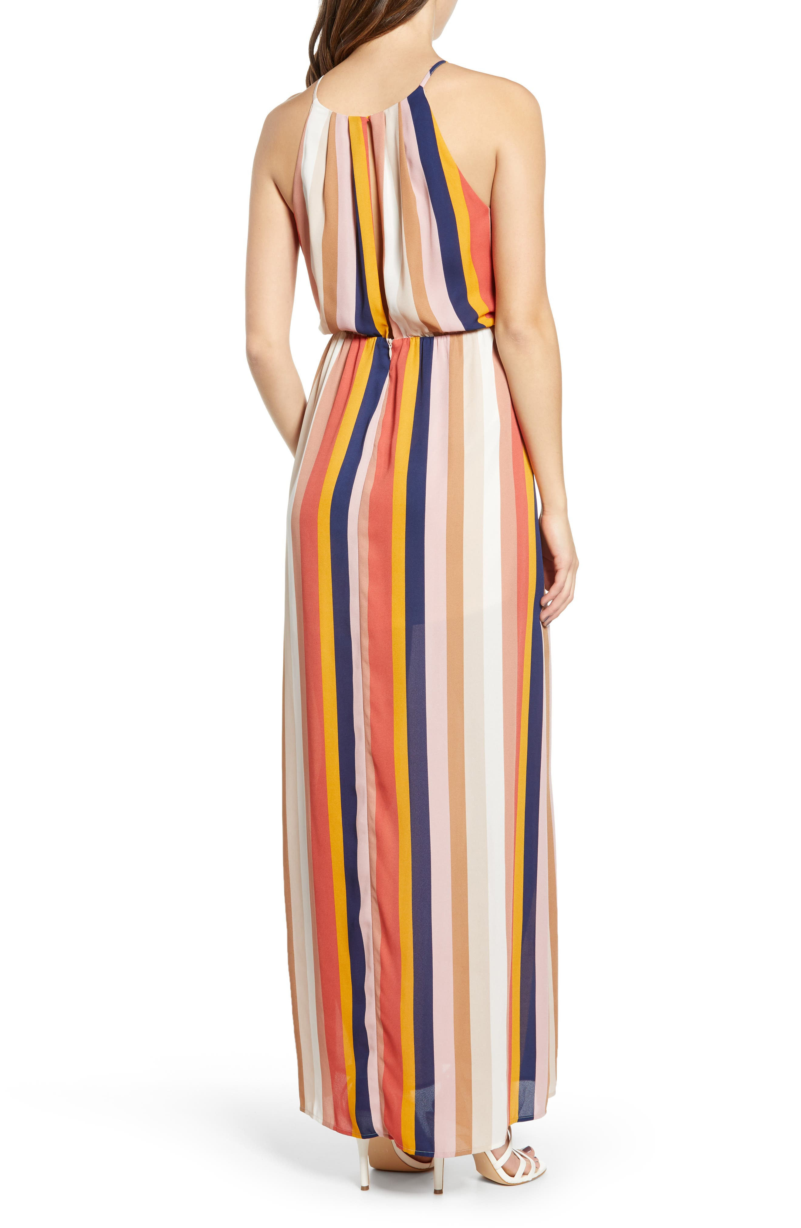 ,                             Blouson Maxi Dress,                             Alternate thumbnail 2, color,                             200