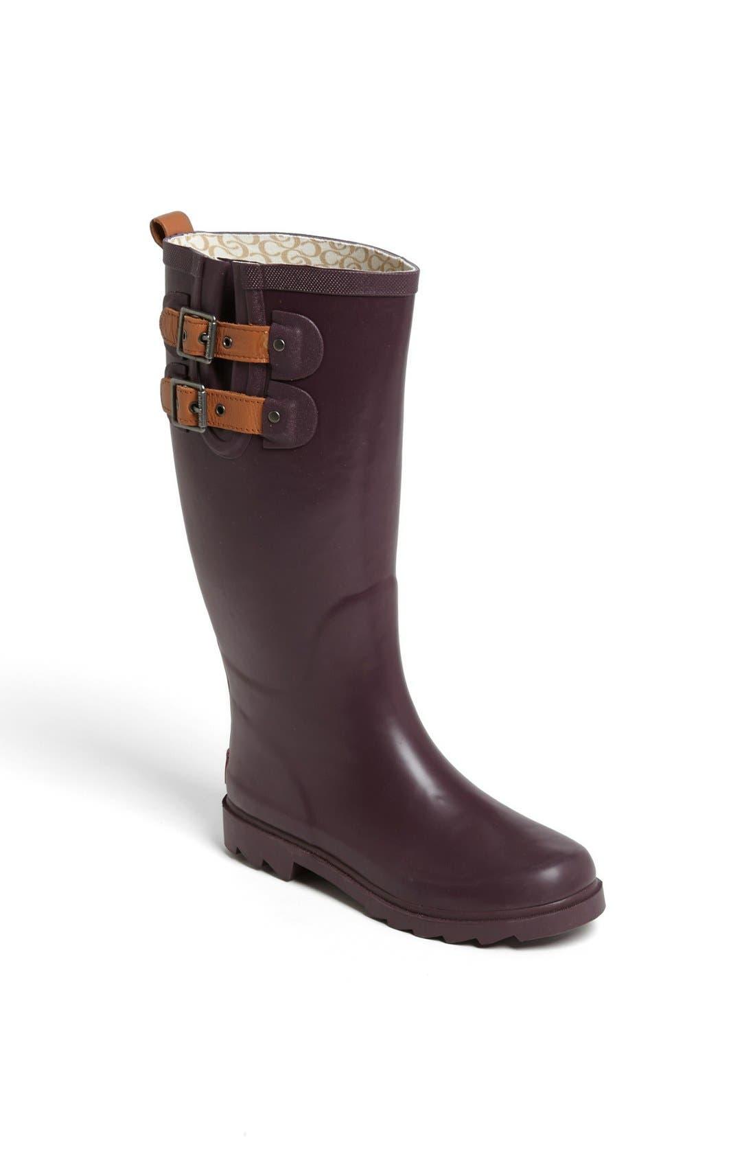 ,                             'Top Solid' Rain Boot,                             Main thumbnail 101, color,                             510