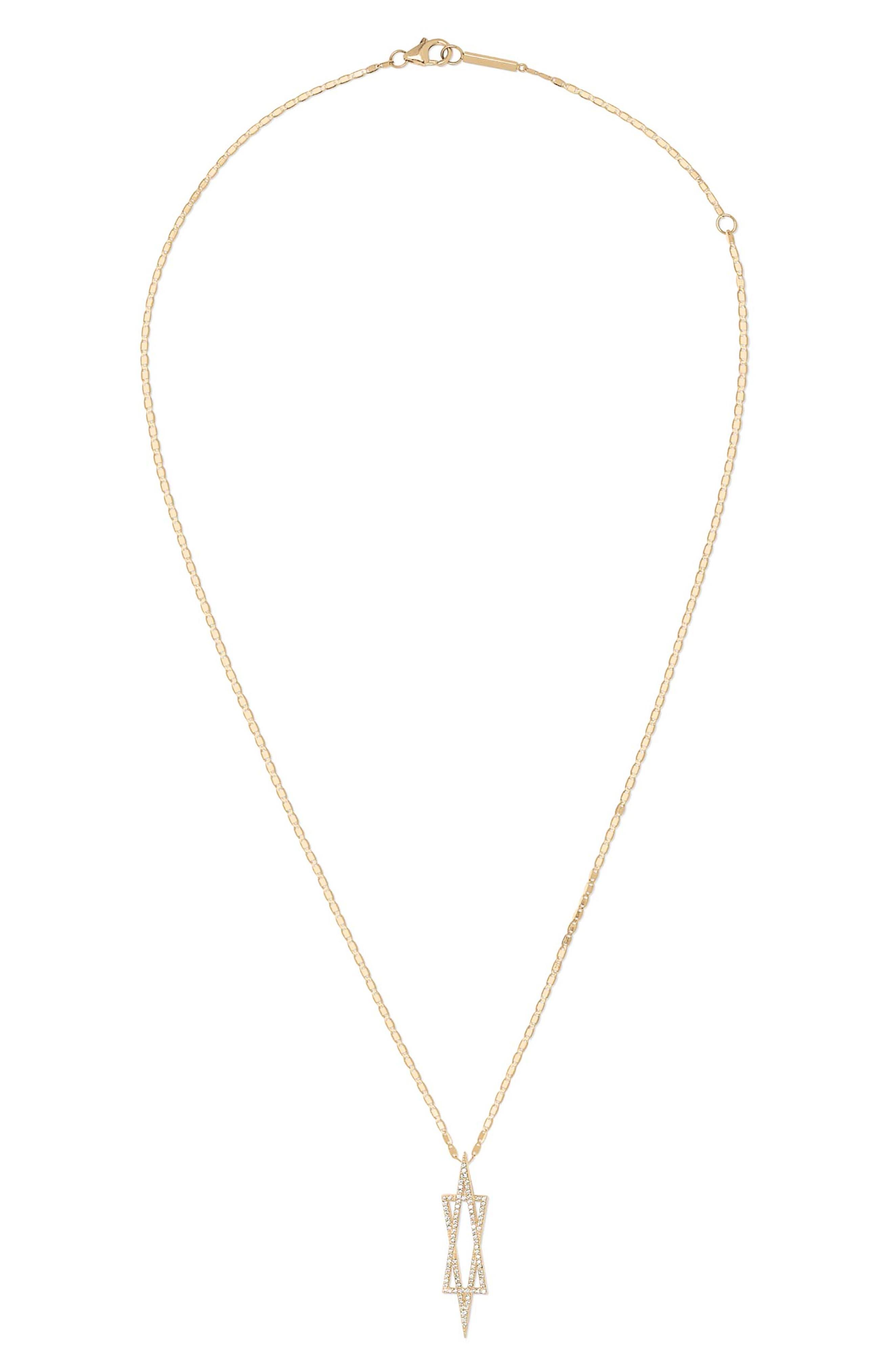 Affinity Diamond Star Of David Pendant Necklace