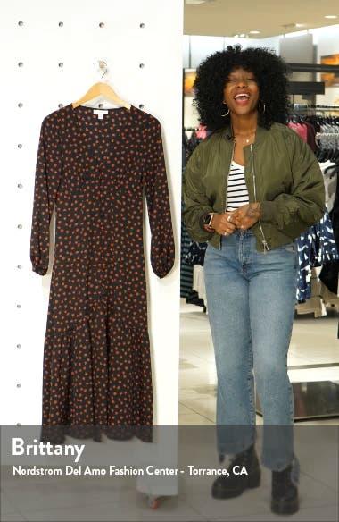 Rose Long Sleeve Shirtdress, sales video thumbnail
