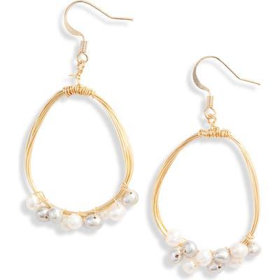 Ten79La Freshwater Pearl Drop Earrings