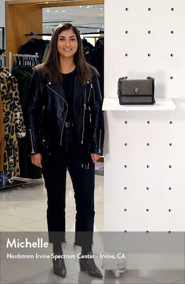 Shoreditch Studded Leather Crossbody Bag, sales video thumbnail