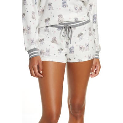 Pj Salvage Pawfection Pajama Shorts, Ivory