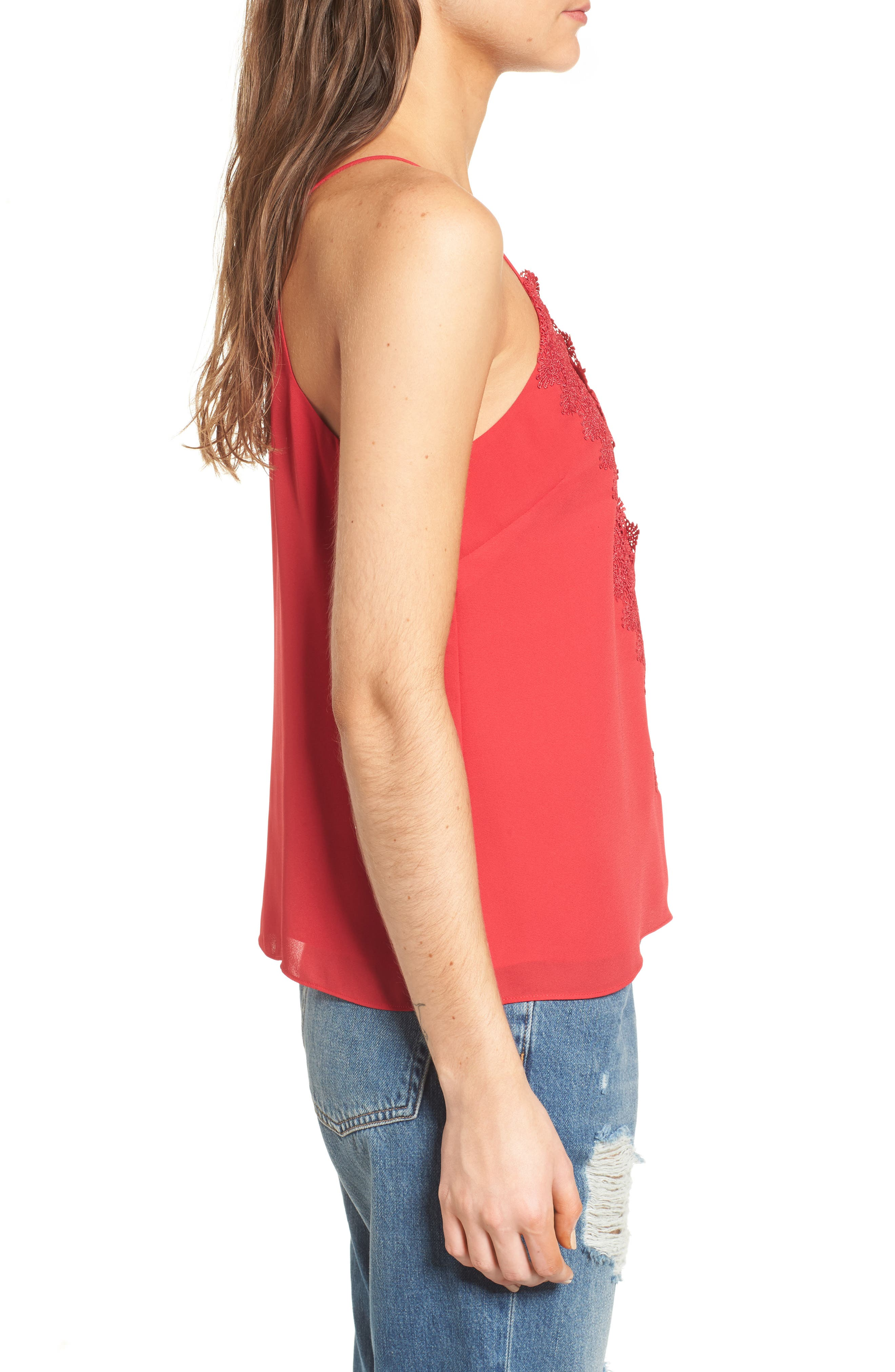 ,                             Posie Strappy Camisole,                             Alternate thumbnail 76, color,                             600