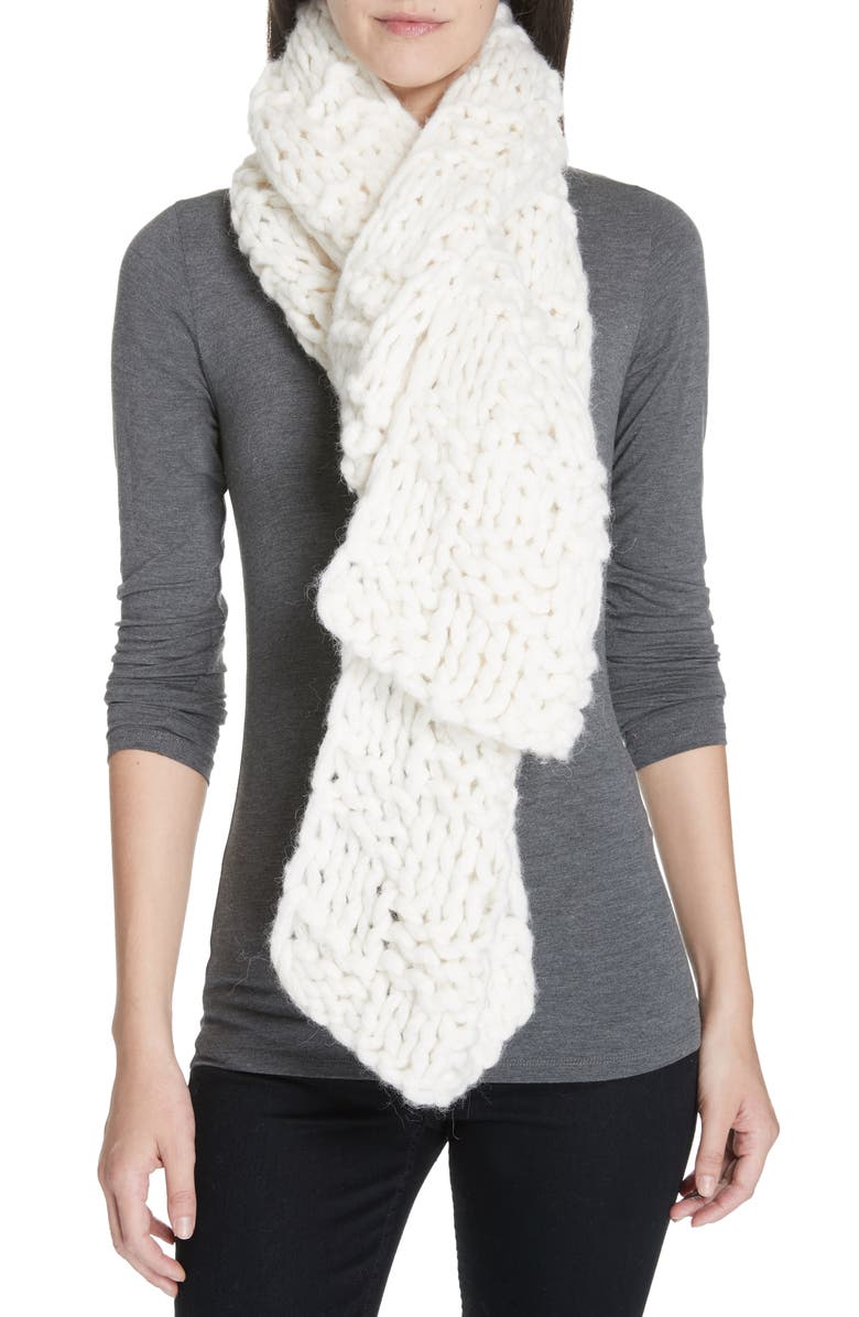 EILEEN FISHER Alpaca Blend Scarf, Main, color, 103