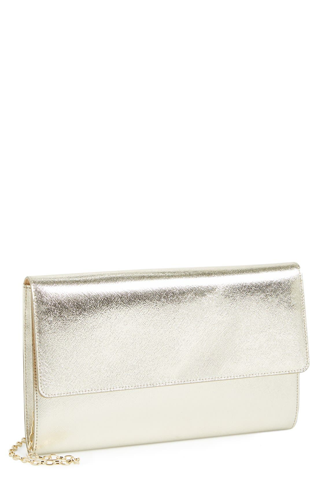 ,                             Saffiano Leather Day Clutch,                             Main thumbnail 19, color,                             711