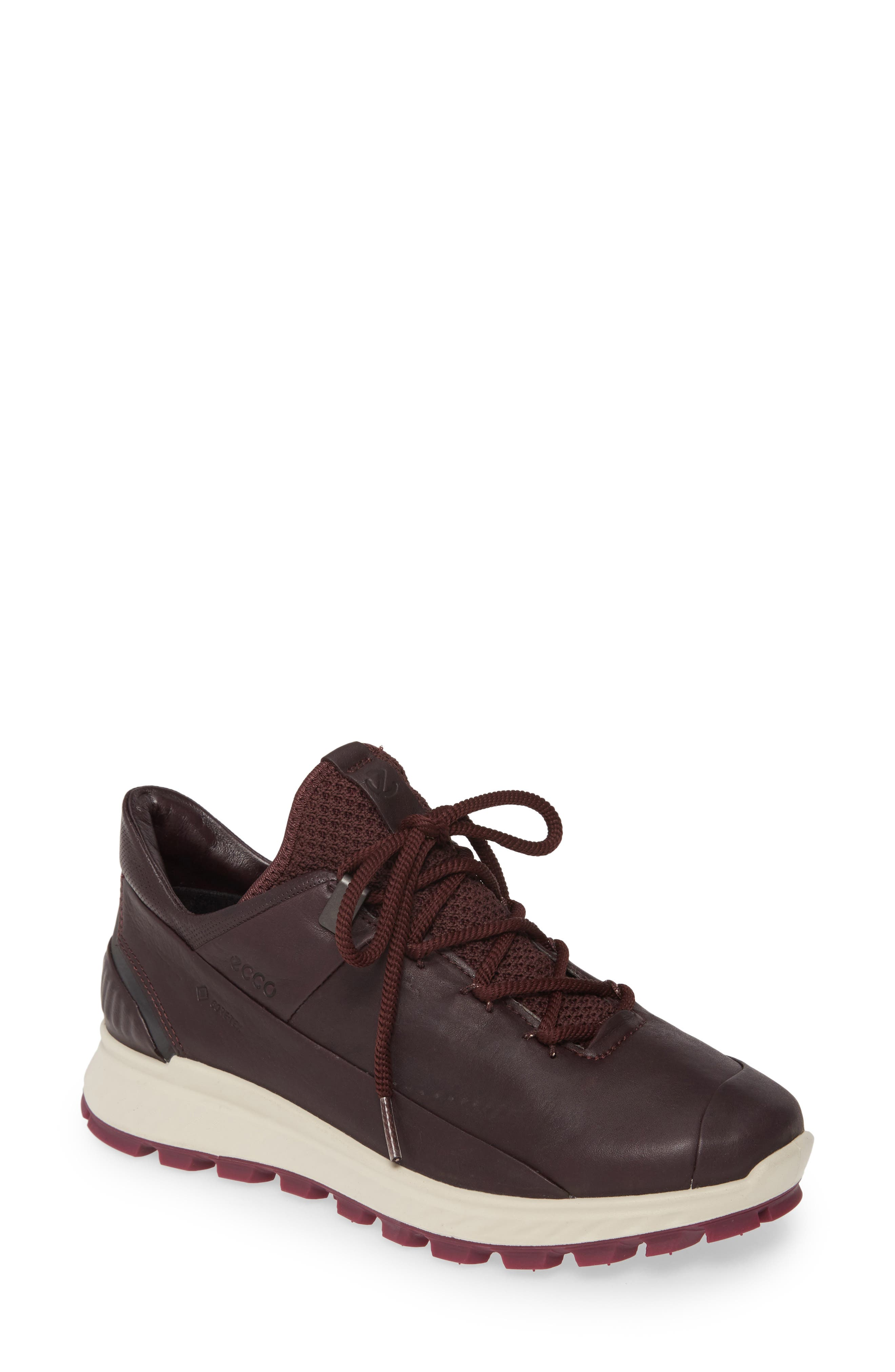 Ecco Exostrike Gore-Tex Sneaker, Burgundy