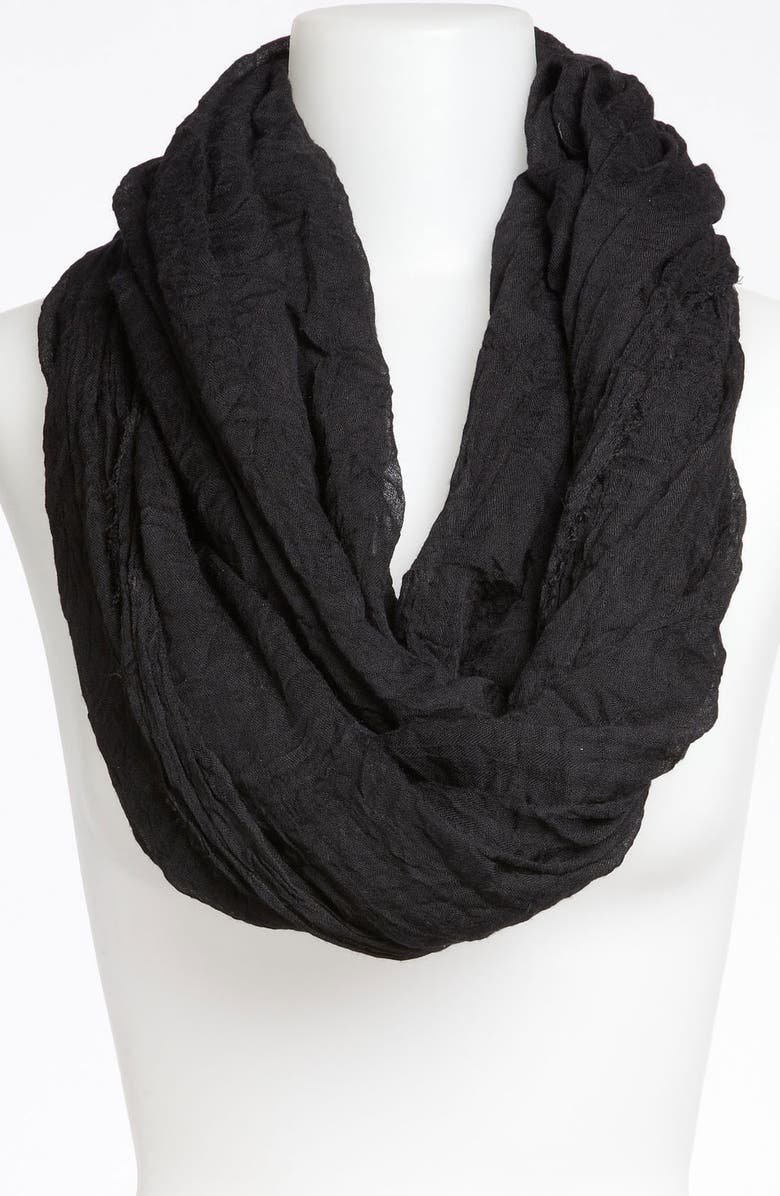 TASHA 'The Ringer' Infinity Scarf, Main, color, 001