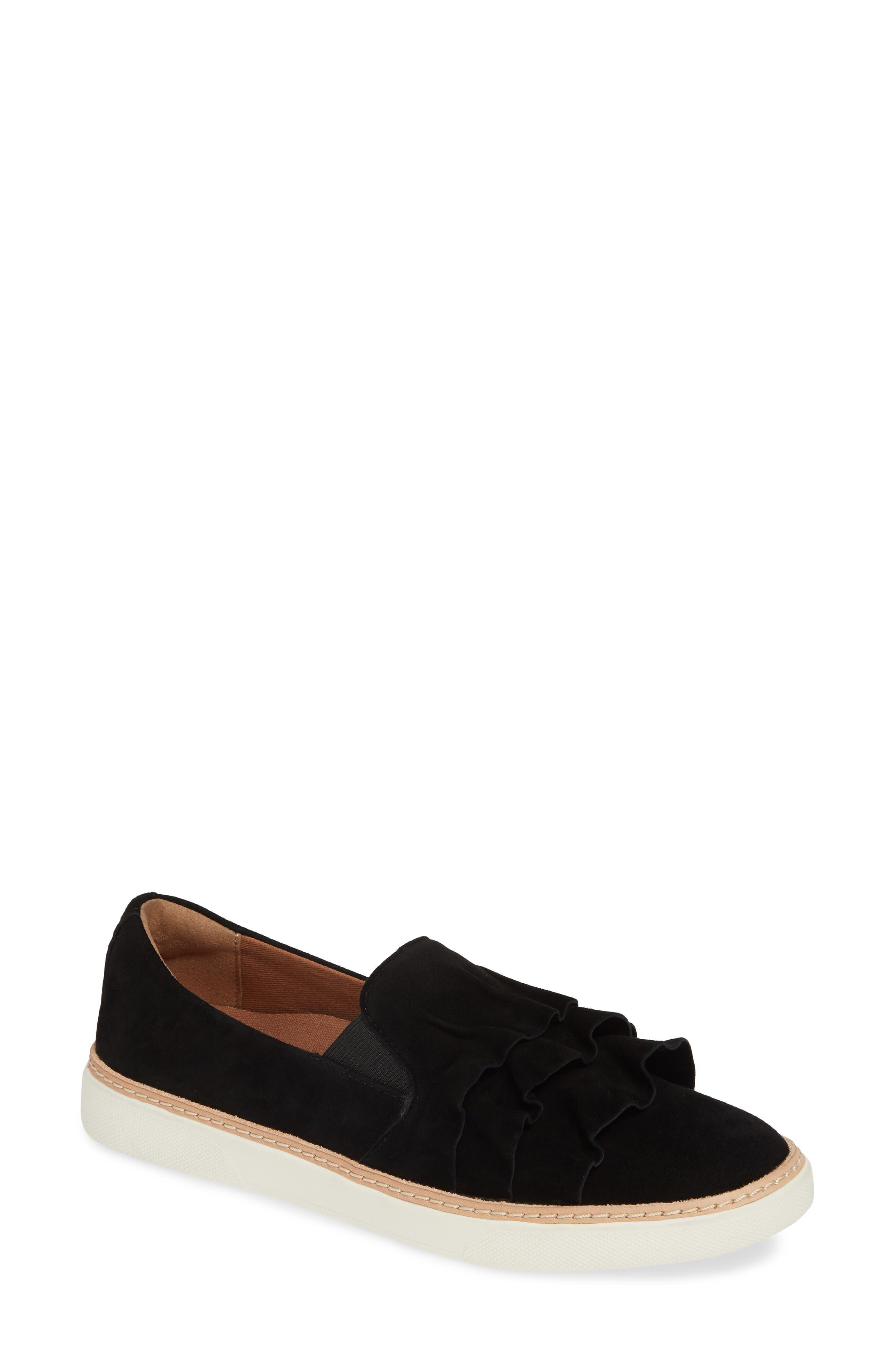 Mahalo Sneaker, Main, color, BLACK SUEDE