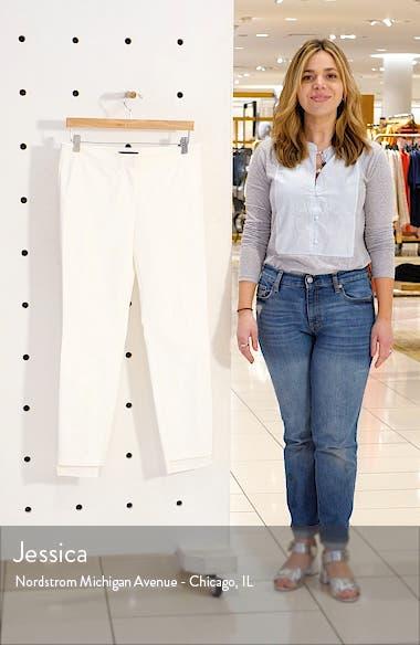 Manhattan Fundamental Step Hem Slim Pants, sales video thumbnail