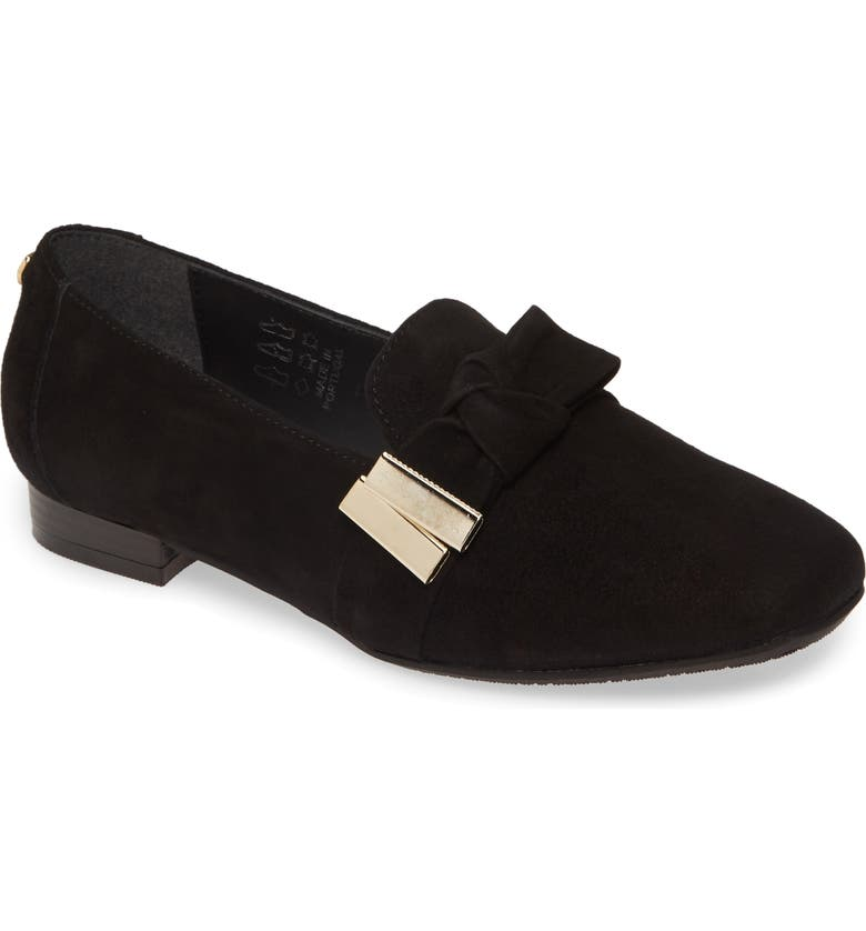 CARVELA COMFORT Camden Flat, Main, color, BLACK SUEDE