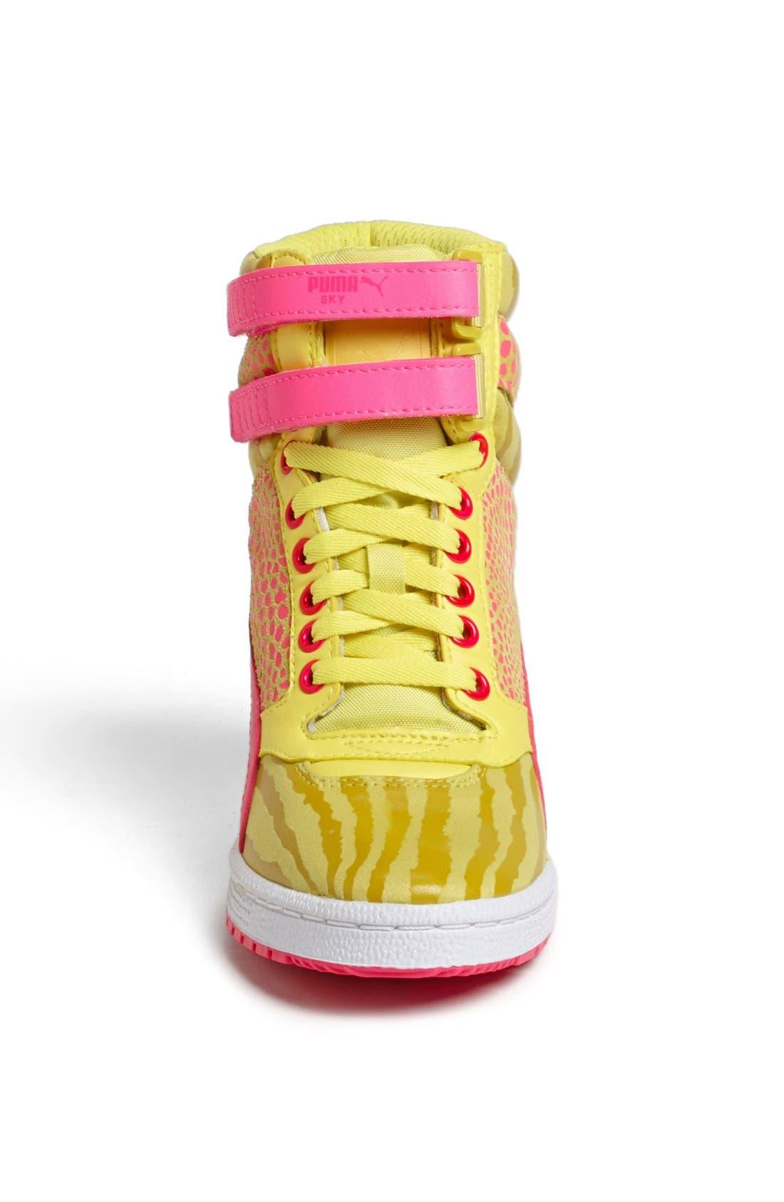 ,                             'Sky Wedge Reptile' Sneaker,                             Alternate thumbnail 14, color,                             750