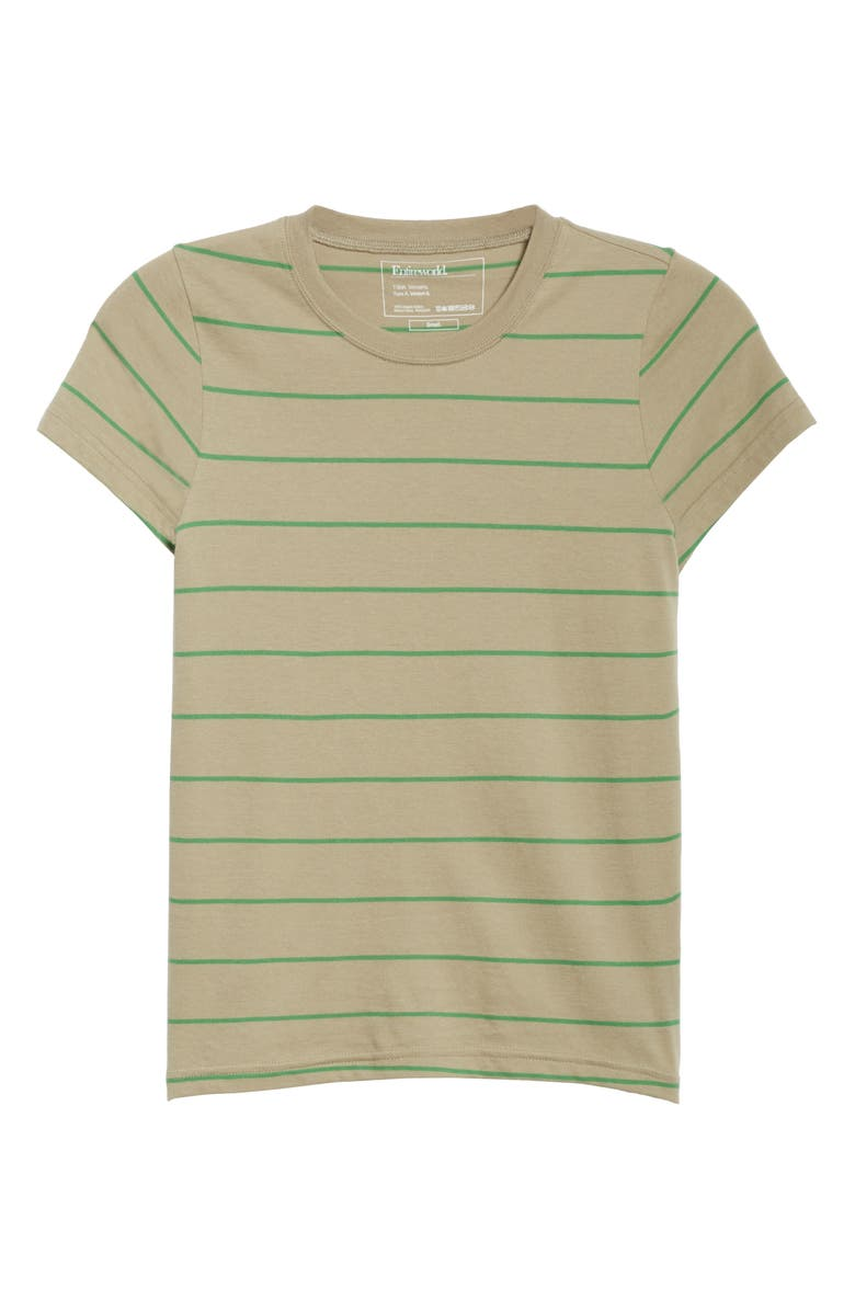 ENTIREWORLD Type A Version 6 Stripe Tiny Tee, Main, color, 250