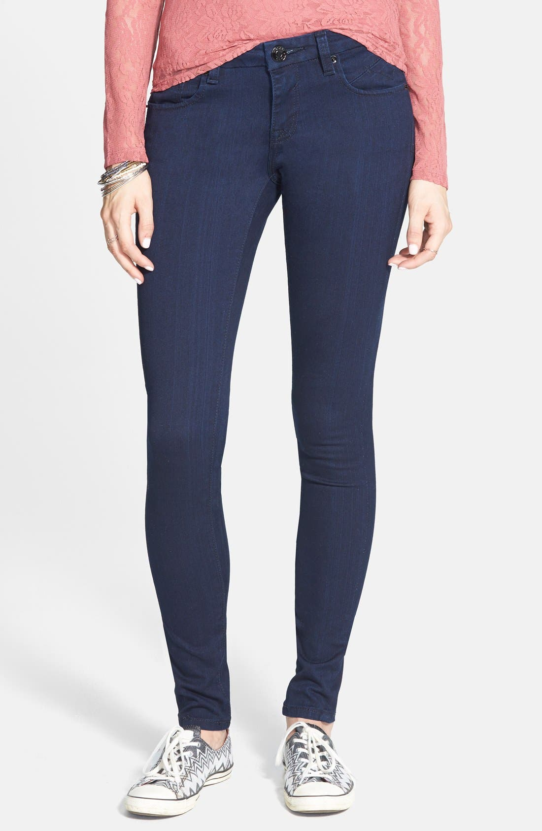 Skinny Jeans, Main, color, 403