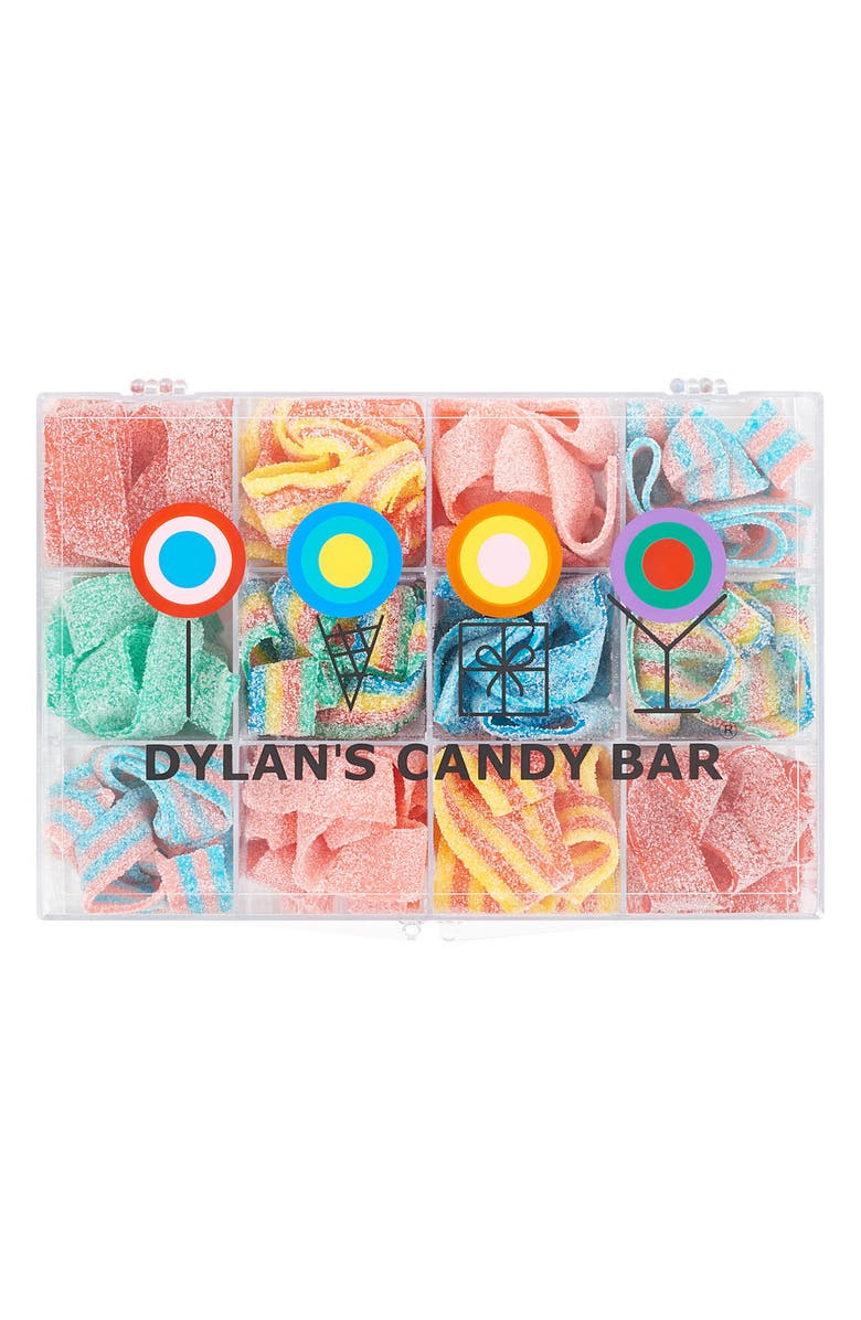 DYLAN'S CANDY BAR Sour Belts Tackle Box, Main, color, PINK