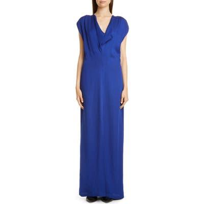 Zero + Maria Cornejo Vera Eco Drape Maxi Dress, Purple