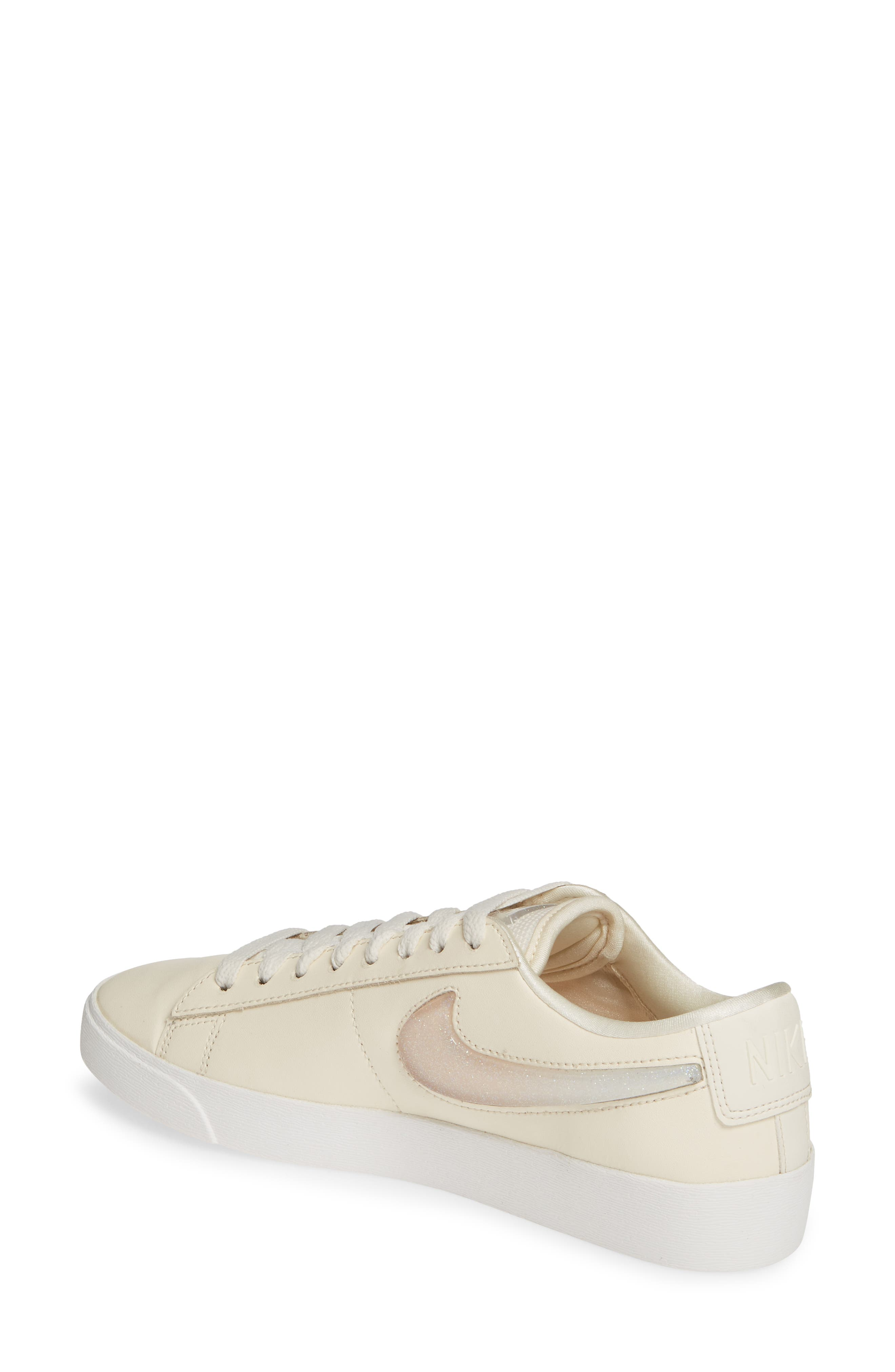,                             Blazer Low LX Sneaker,                             Alternate thumbnail 2, color,                             PALE IVORY/ GUAVA ICE/ WHITE