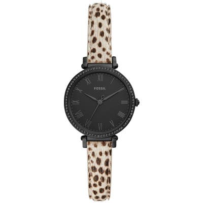 Fossil Kinsey Genuine Calf Hair Watch, 2m