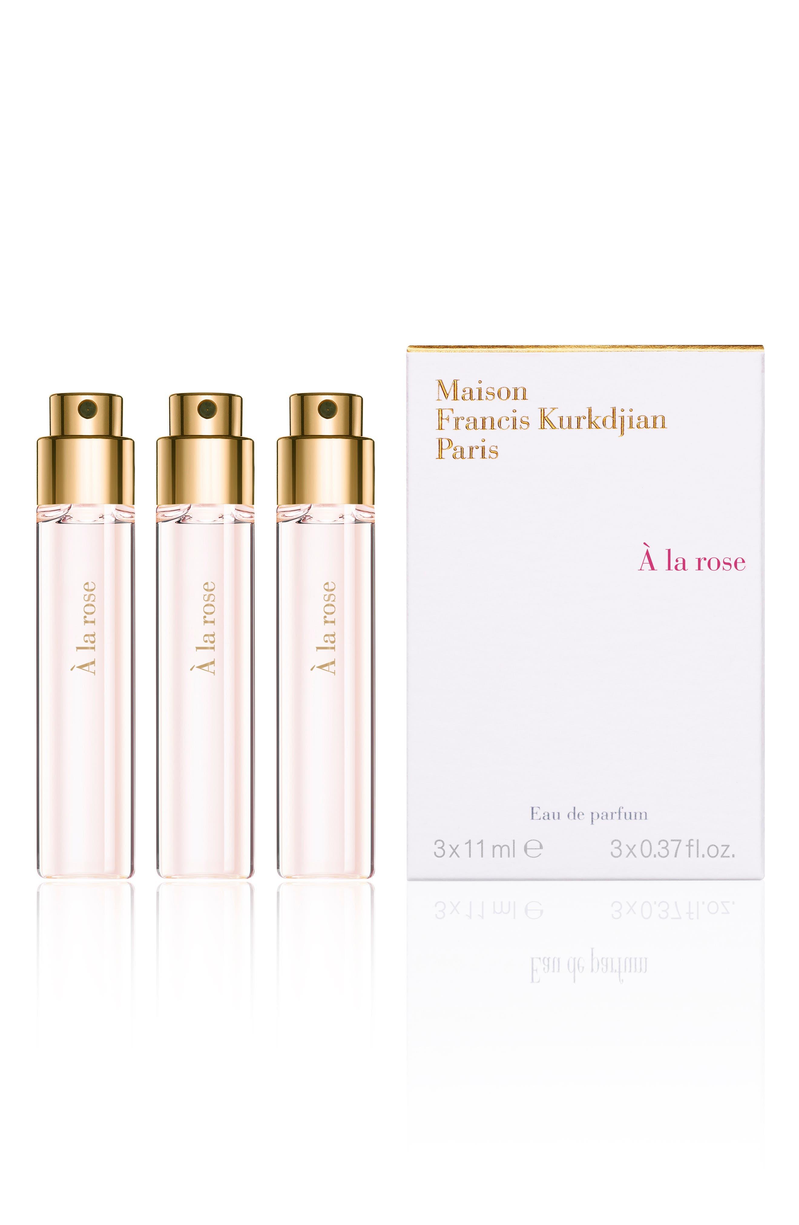 Paris A La Rose Eau De Parfum Refill Trio