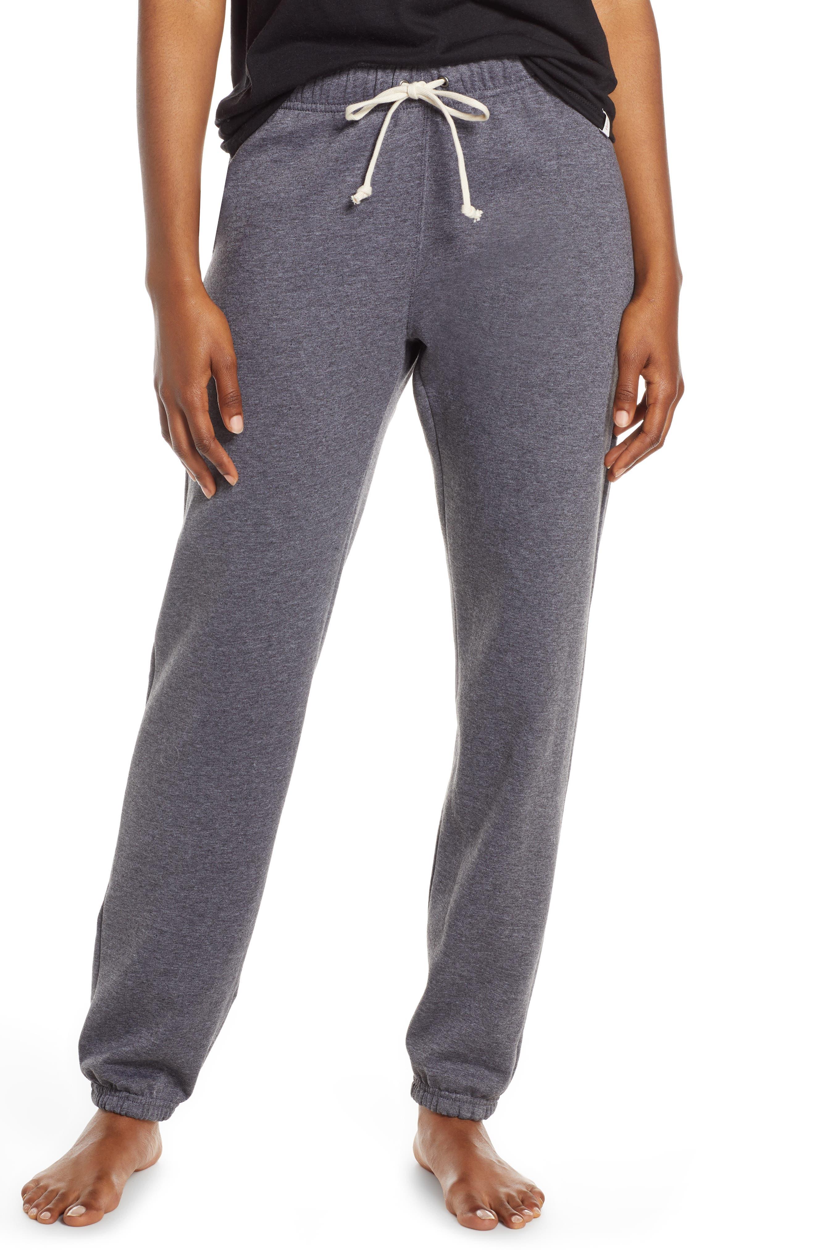 Hanes Luxe Fleece Sweatpants, Grey
