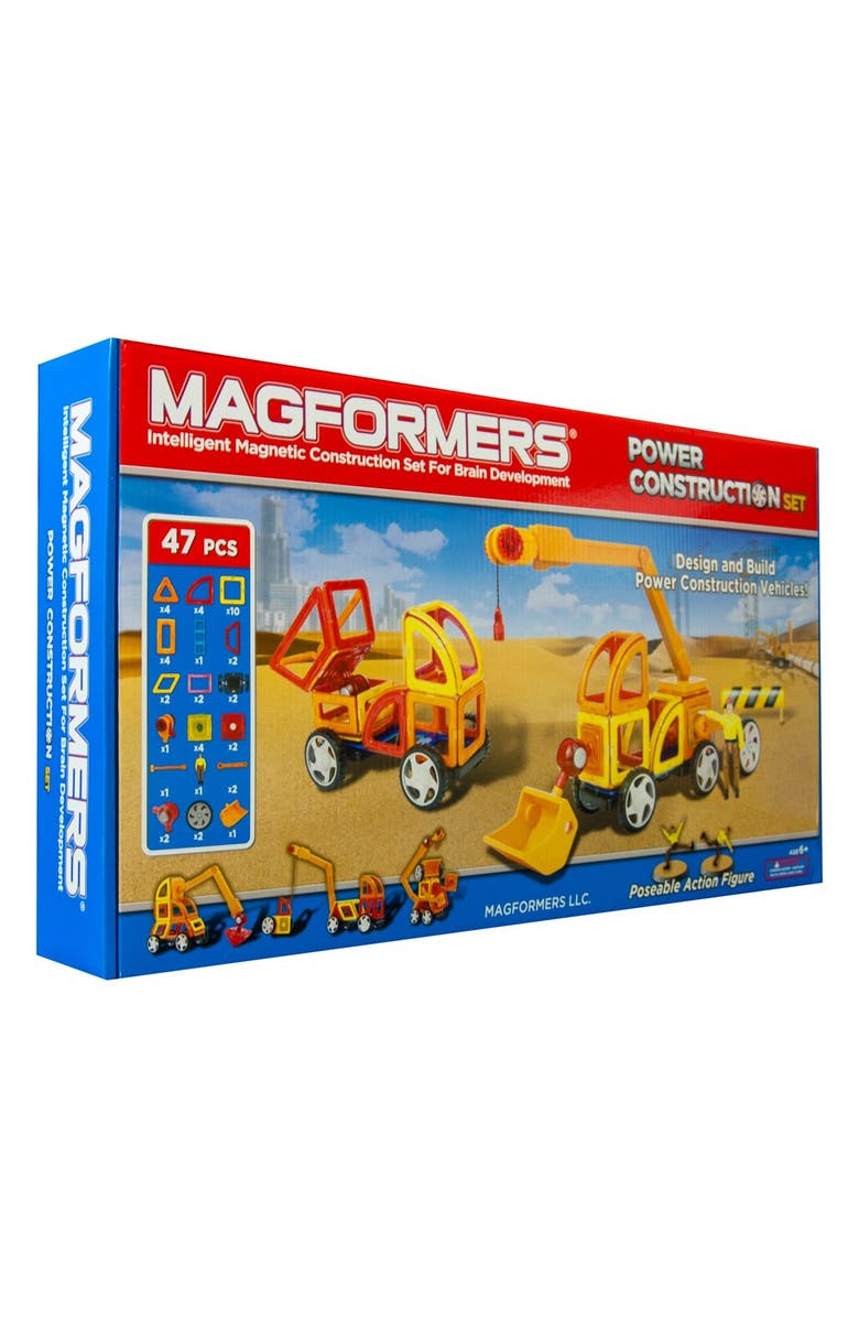 MAGFORMERS 'Power' Construction Set, Main, color, MULTI