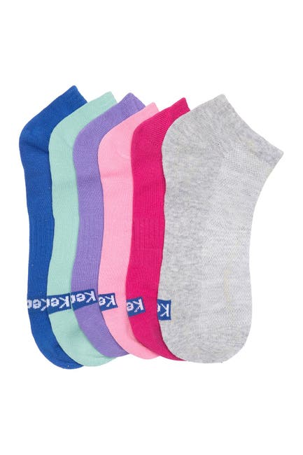 Image of Keds Multicolored Low Cut Socks - Pack of 6
