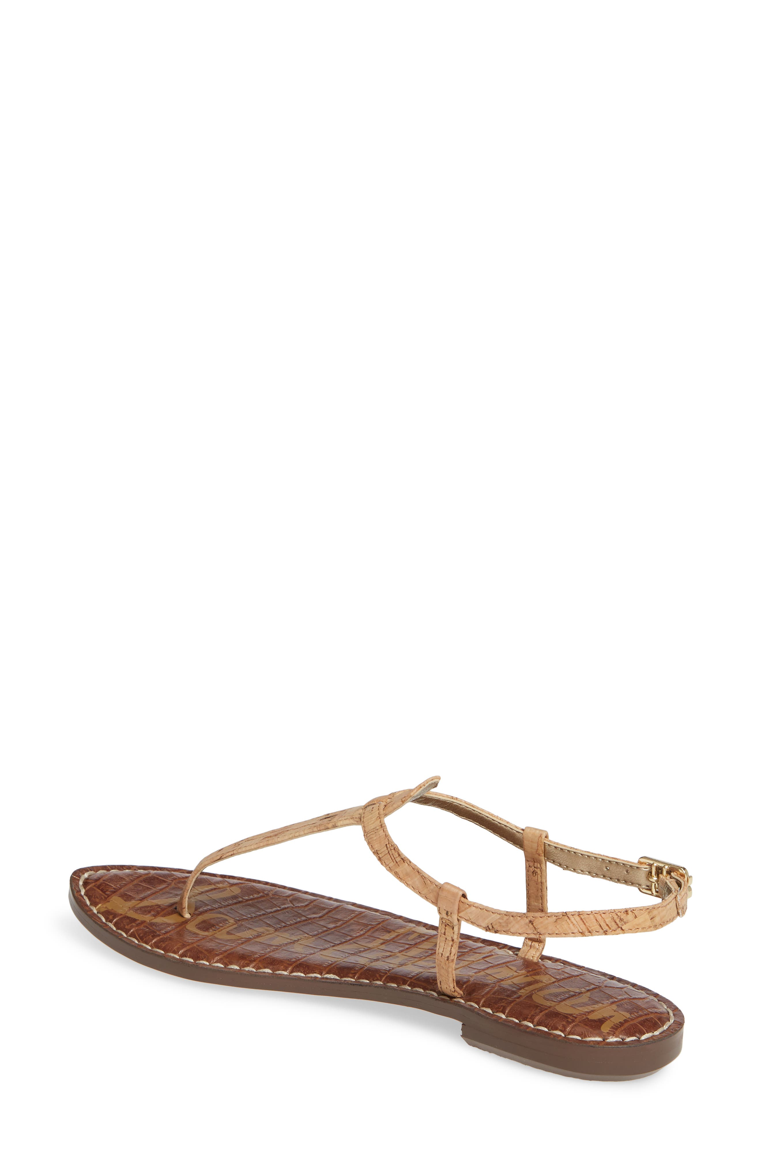 ,                             Gigi Sandal,                             Alternate thumbnail 3, color,                             NATURAL CORK