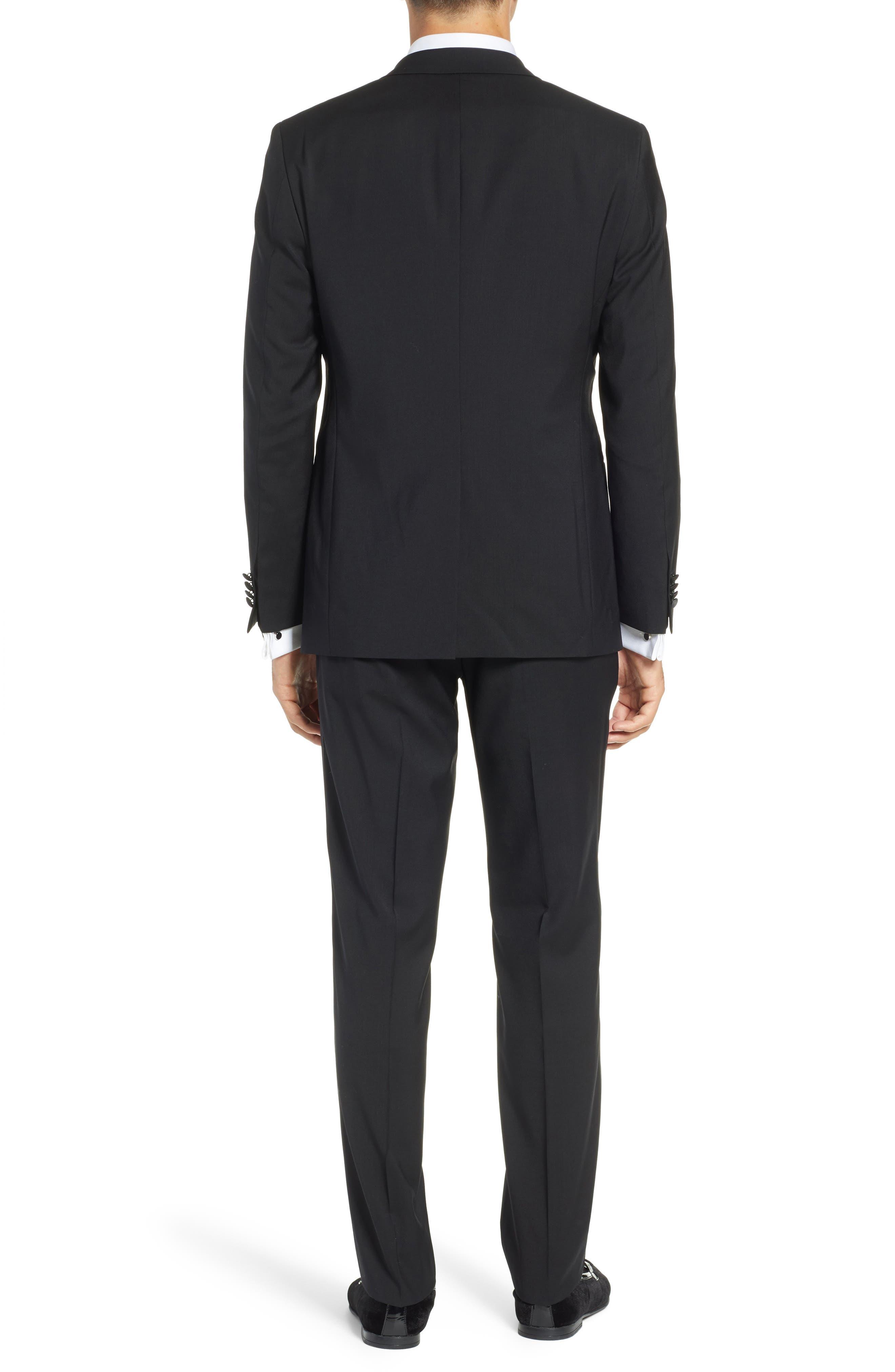 ,                             The Stars/Glamour Slim Fit Wool Tuxedo,                             Alternate thumbnail 2, color,                             001