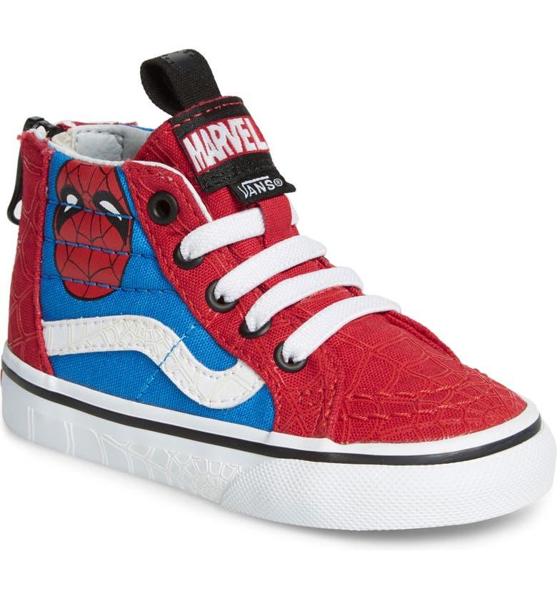 x Marvel® Spider Man SK8 Hi Sneaker