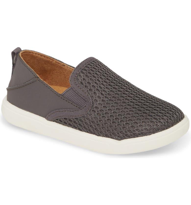 OLUKAI Pehuea Maka Collapsible Slip-On Sneaker, Main, color, PAVEMENT/ PAVEMENT