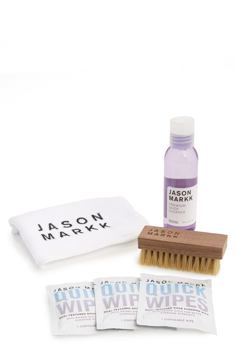 JASON MARKK Travel 7-Piece Shoe Cleaning Kit, Main, color, NO COLOR
