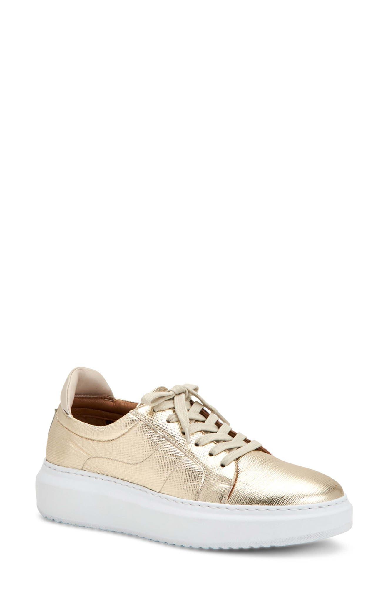 Liz Calfskin Leather Sneaker