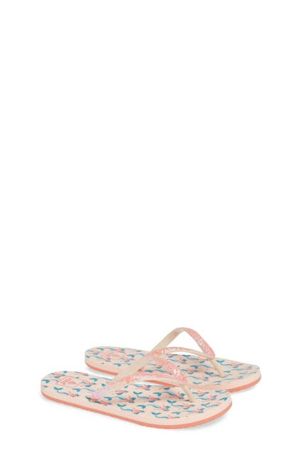 Image of Reef Little Stargazer Mermaid Print Flip Flop