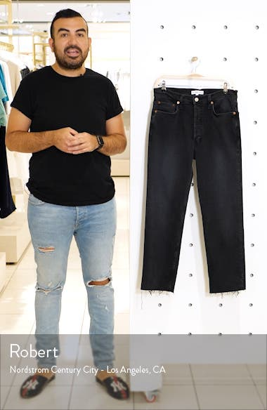 Originals High Waist Stovepipe Jeans, sales video thumbnail